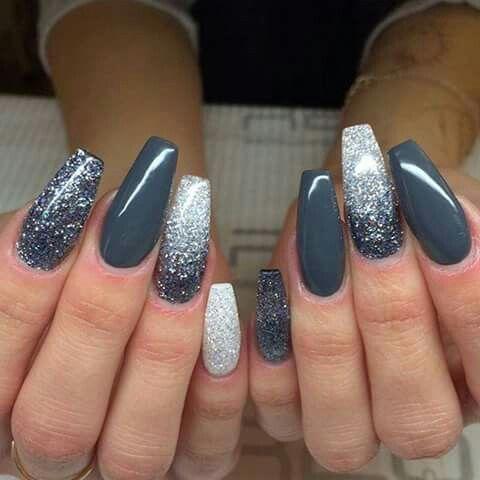 Gradient;Sparkling;art ideas;silver glitter;color;wedding