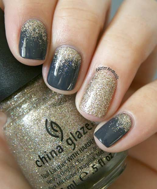 Gradient;Sparkling;art ideas;silver glitter;color;wedding