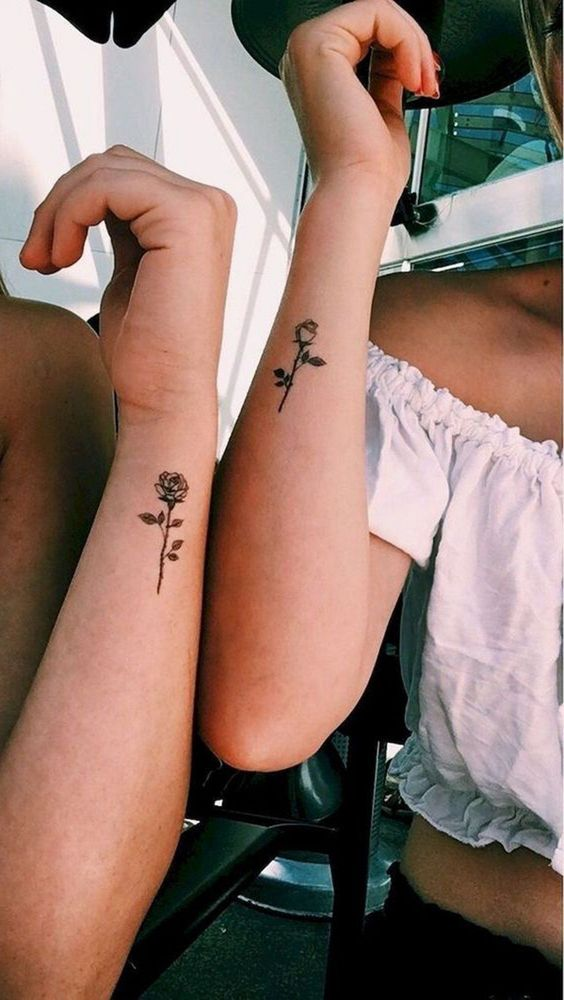 99c88e54f 30 Meaningful couples small tattoo ideas and designs - Page 21 of 30 ...
