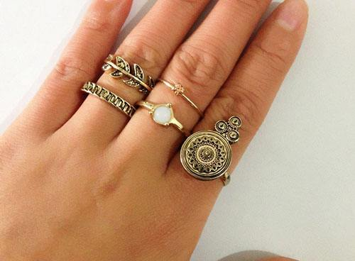 Boho;Simple Ring;Engagement Ring;For Teens Ring;Wedding Ring;Stacking Ring;Personityity Ring