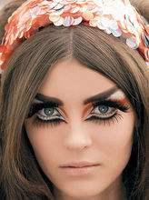 Eye Makeup ;  Colorful ; Bright Makeup ; Crazy Makeup ; Eyeshadows ; Avant Garde ; Peacocks ; Sparkle ; Inspiration;  Beautiful