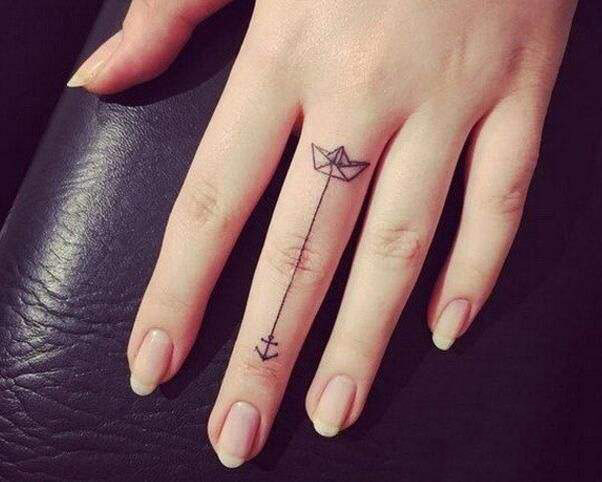 61 Finger Tattoos That Immediately Fascinated Page 54 Of
