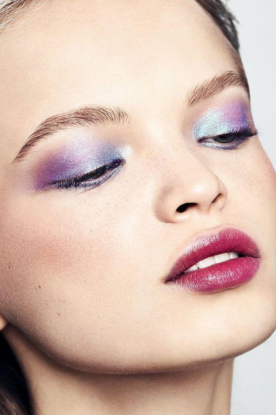 Makeup; Eye Shadow; Mascara; Natural Makeup; Exaggerated Makeup; Looks; For Black Women; Prom Makeup