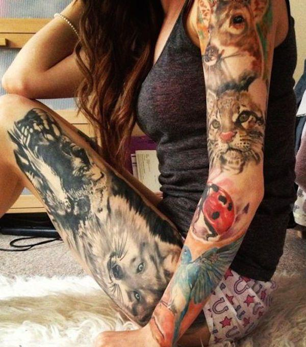 women tattoos; tattoos ideas; tattoos for girls; flowers tattoos; animal tattoos;rose tattoos;color tattoos