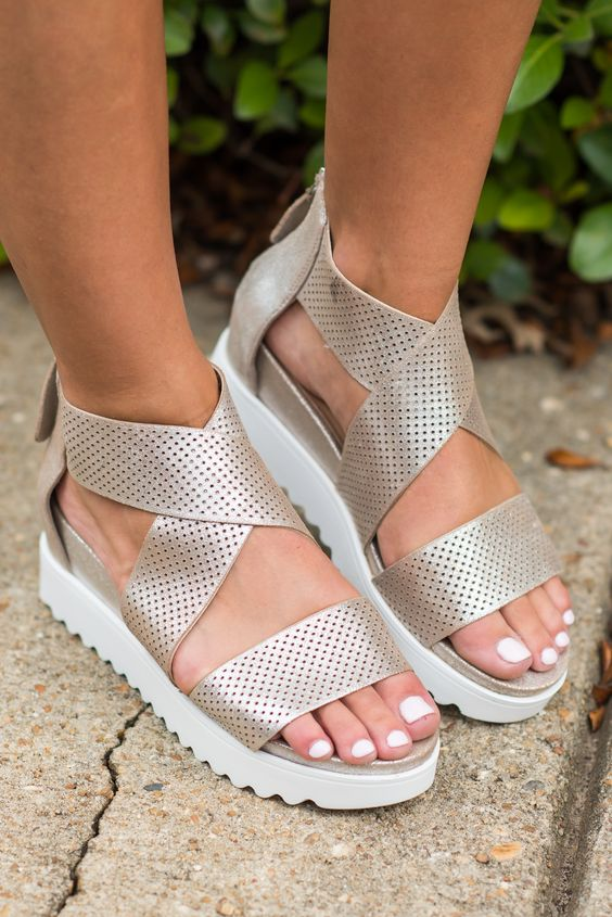 Shoes; Sandals; Slippers; Flat Shoes; High Heels;Comfortable Sandals; Strappy Sandals; Platform Sandals;Leather Sandals; Gladiator Sandals; Wear; Birkenstock Sandals;Wedge Sandals